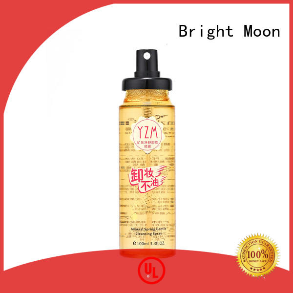 Bright Moon thermal water makeup remover cream suppliers for trader