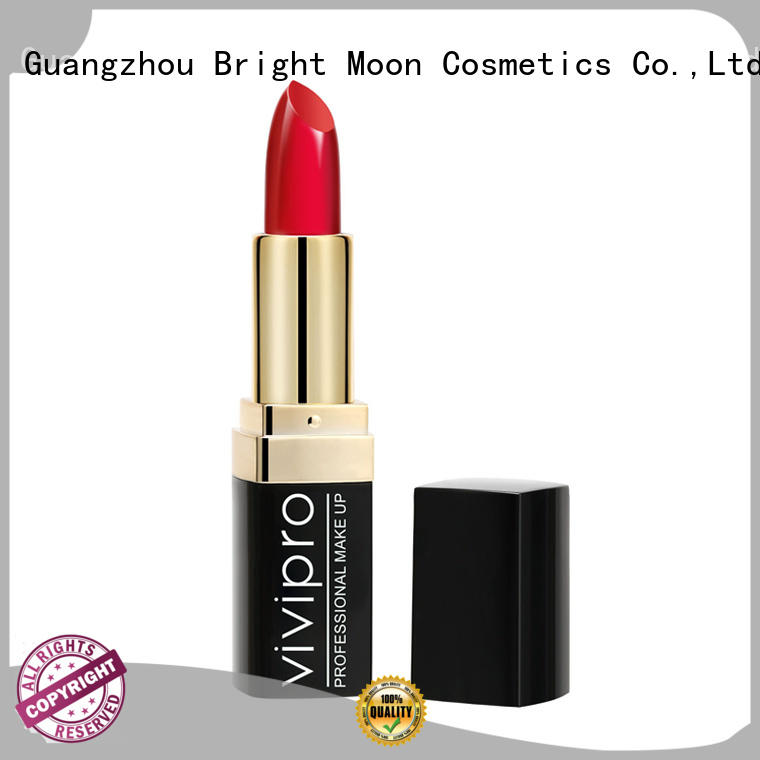 Bright Moon color long wear lipstick suppliers for girls