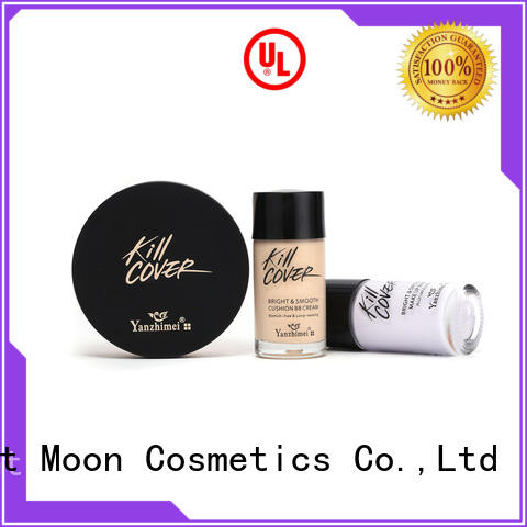 Bright Moon control face foundation makeup factory for cosmetic industry