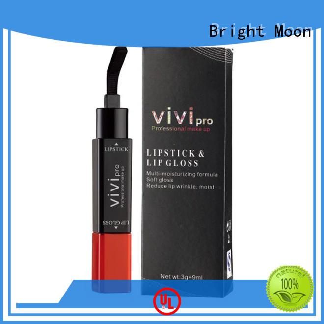 Bright Moon Custom long lasting lip gloss factory for global trade