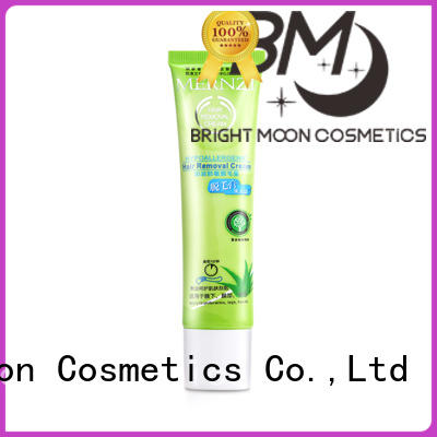 Bright Moon painless skin hair removal cream for business for female