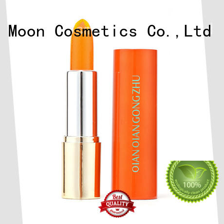 Bright Moon color waterproof lipstick suppliers for lips
