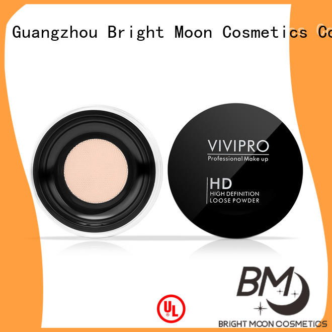 Bright Moon cushion loose powder highlighter supply for skin tone
