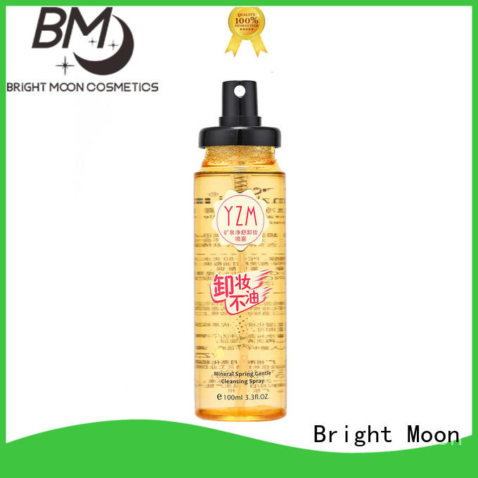 Bright Moon High-quality makeup remover water suppliers for importer