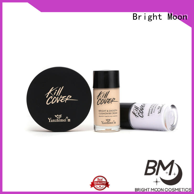 Bright Moon Best powder blusher supply for cosmetic industry