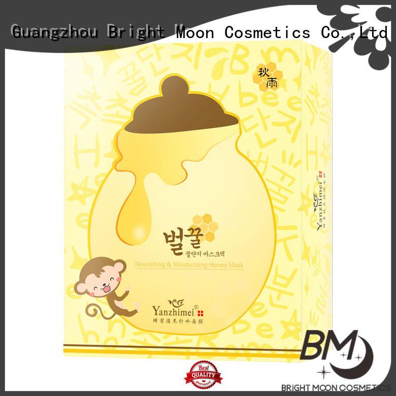 Honey Propolis Nourish Silk Facial Korean SheetMask Moisturizing Whitening Nourishing 25g*10pcs YZM-5592