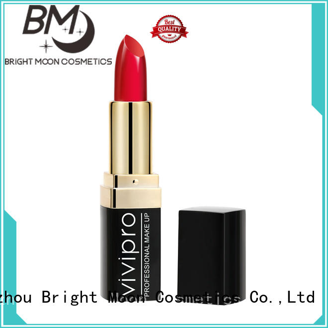 Bright Moon tube matte lipstick manufacturer manufacturers for ladies