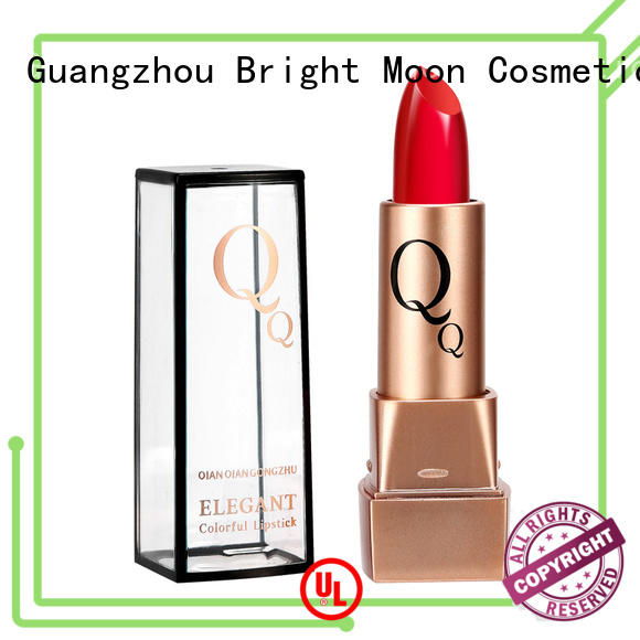 Bright Moon New long wear lipstick supply for girls
