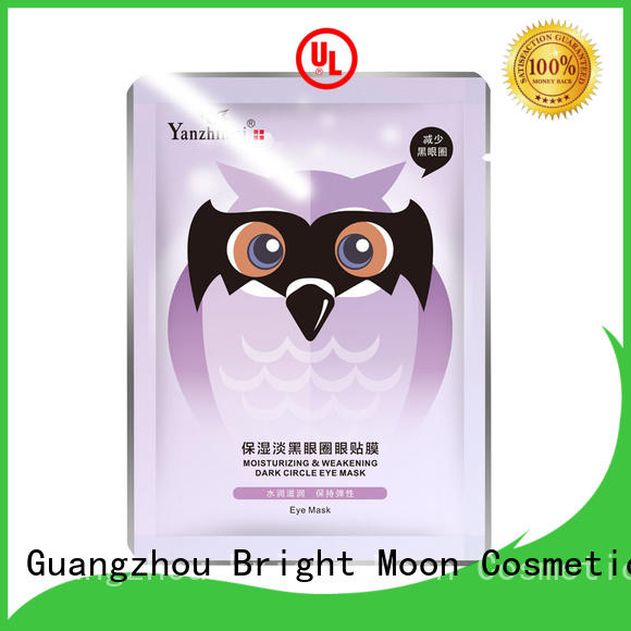 Bright Moon bamboo charcoal eye care product for sale facial cover