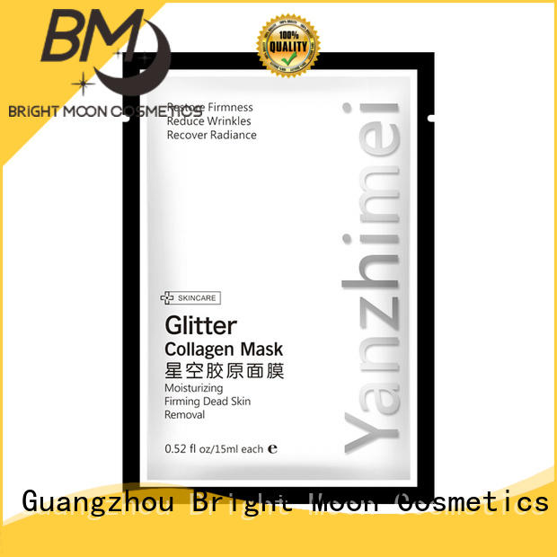 Glitter Collagen crystal Peel off facial Mask with shinning stars Remove Blackheads 20g*10pcs YZM-5679