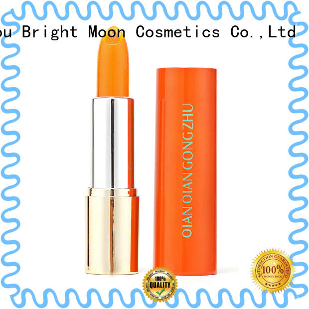 Bright Moon qqgz2068 lipstick supplies company for girls