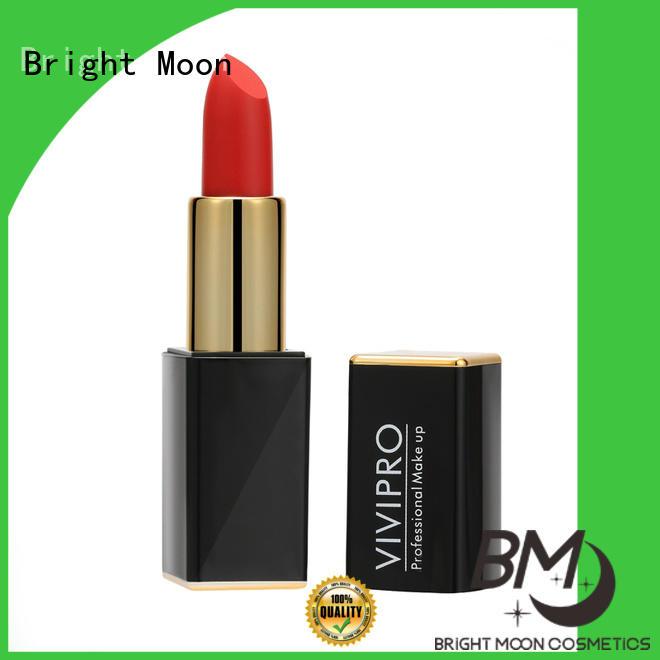 Bright Moon nourishing long stay lipstick company for girls