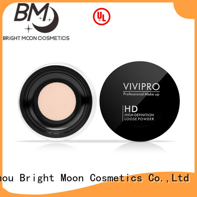 Custom loose powder highlighter toner for business for cosmetic industry