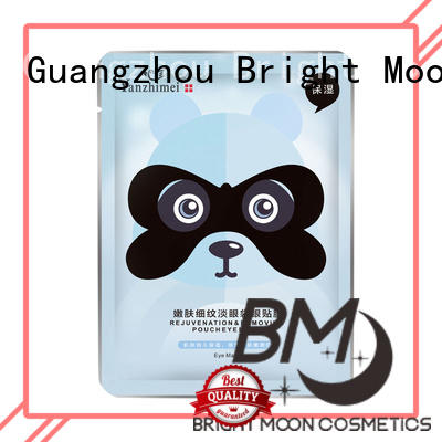 Bright Moon bamboo charcoal eye care product factory for cosmetic industry